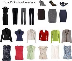basic professional wardrobe