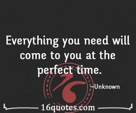 What You Do In The Will Come To Light by Everything You Need Will Come To You At The Time