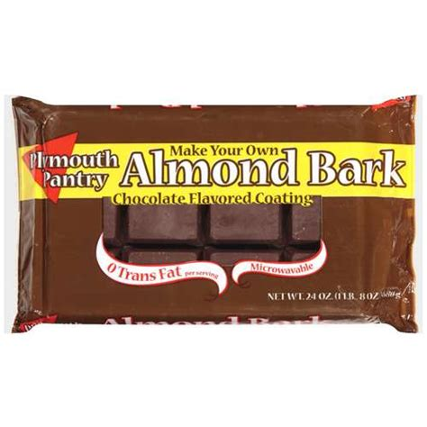 Plymouth Pantry Almond Bark Ingredients by Plymouth Pantry Almond Bark Chocolate Baking Bar 24 Oz