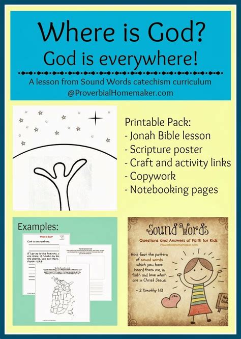 catechism lesson plan template teach kindness printable pack words curriculum