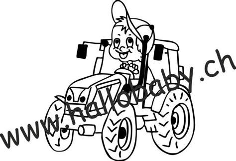 Autoaufkleber Baby Traktor by Autokleber F 252 R Etwas Groessere Kinder Hallo Baby