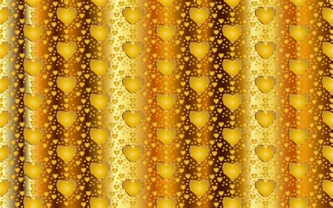 gold heart pattern clipart seamless gold heart pattern 3