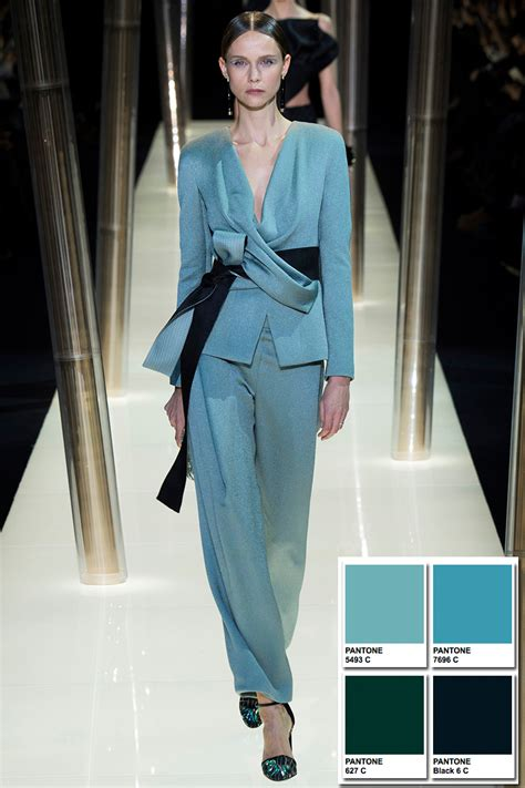 Home Decor Trends Winter 2016 armani prive spring 2015 couture collection color codes