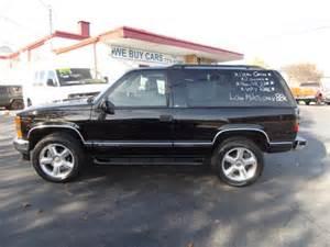 Chevrolet Tahoe 2 Door Black 2 Door Chevrolet Tahoe 1999 Mitula Cars