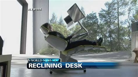 reclining workstation futuristic reclining workstation youtube