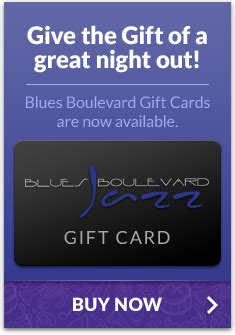 Boulevard Gift Card - blues boulevard jazz greenville sc