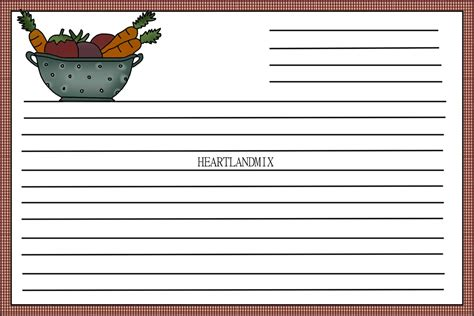 make your own recipe cards a recipe card image printable to make your own recipe