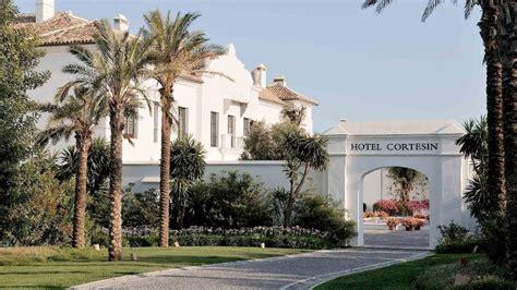 luxury spa hotel with tennis near malaga coast
