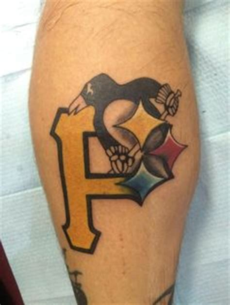 animal tattoo pittsburgh pa pittsburgh teams tattoo the pittsburgh design includes