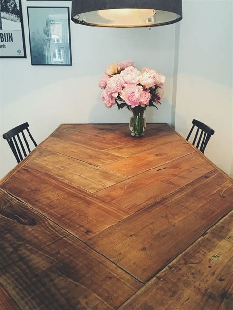 best 25 rustic table ideas on diy wood table