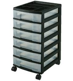 schubladen aufbewahrung six drawer office storage chest black in storage drawers