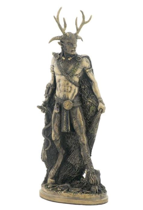 God Statue | pin celtic gods cernunnos the great horned god on pinterest
