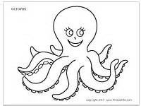 Free Printable Halloween Crafts For Kids - octopus printable templates amp coloring pages firstpalette com