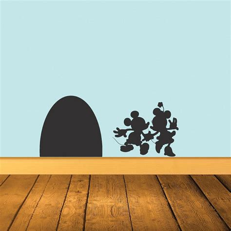 mickey mouse and minnie mouse wall sticker home decor mickey and minnie mouse wall decal disney wall decal mickey