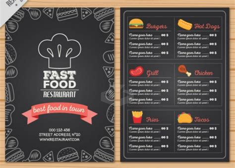 sandwich shop menu template sandwich menu template sandwich menu template food menu
