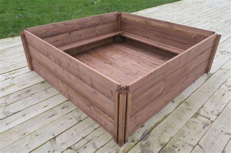 puppy whelping box gardening works wooden raised beds compost bins