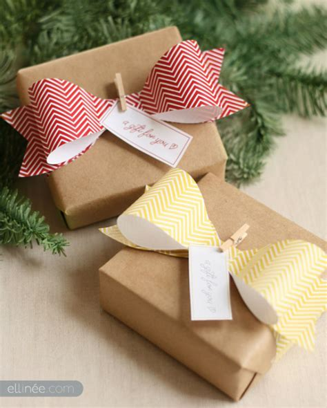 Make A Bow Out Of Wrapping Paper - seven and creative gift wrap ideas wrapping paper