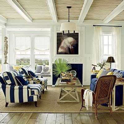 Nautical Living Room by Nautical Living Room Sisal Rug Country Design