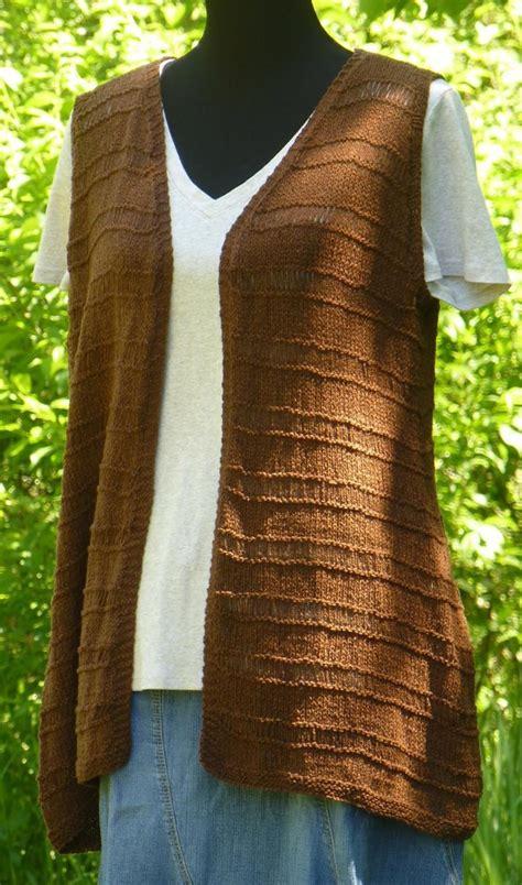 Vest Nadine nadine vest knitting pattern by tamara moots