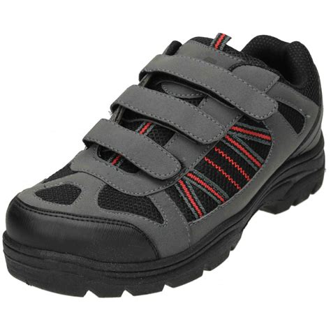 mens boots velcro a plus mens velcro hiking boots trail walking trainers