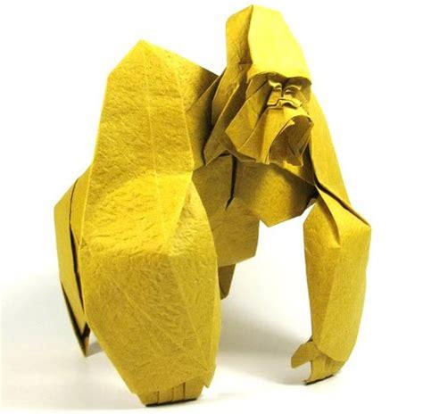 Gorilla Origami - elephant elephant schemes of origami from paper
