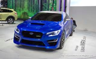 2014 Subaru Wrx Automobile Trendz 2014 Subaru Impreza Wrx Concept 6