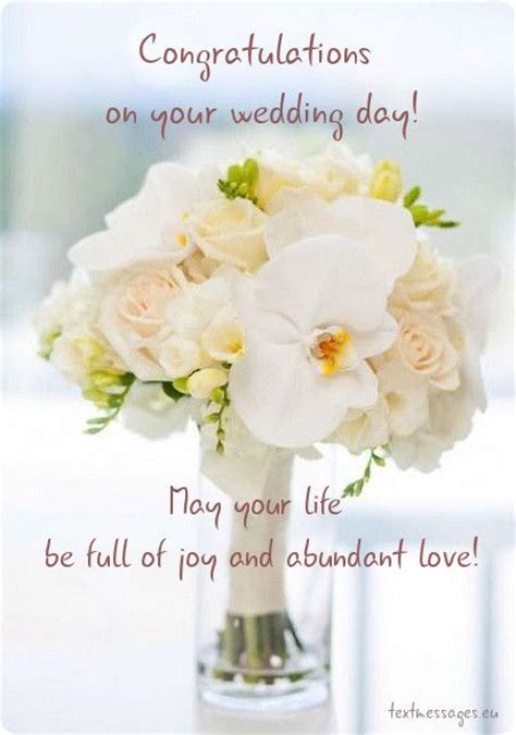Wedding Wishes Cards In