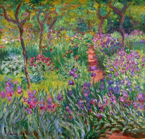 Monet Gardens by Claude Monet Garden Images