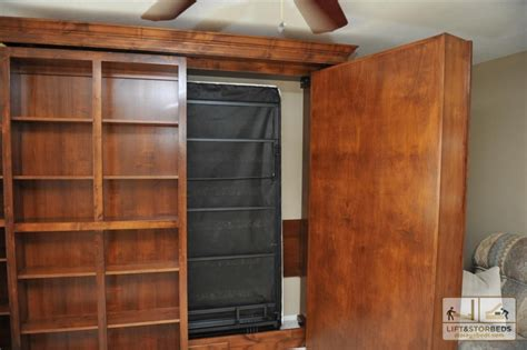 murphy library beds for your home lift stor beds