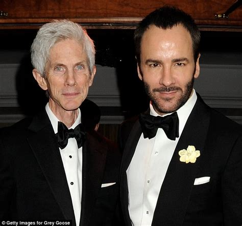 Tom Ford And Richard Buckley Tom Ford Casually Drops Bombshell He Is Married To Richard