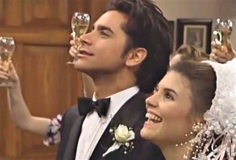 full house forever wedding version full house s jesse and becky got married 22 years ago