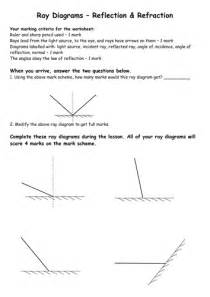 worksheets refraction worksheet justptctrusted