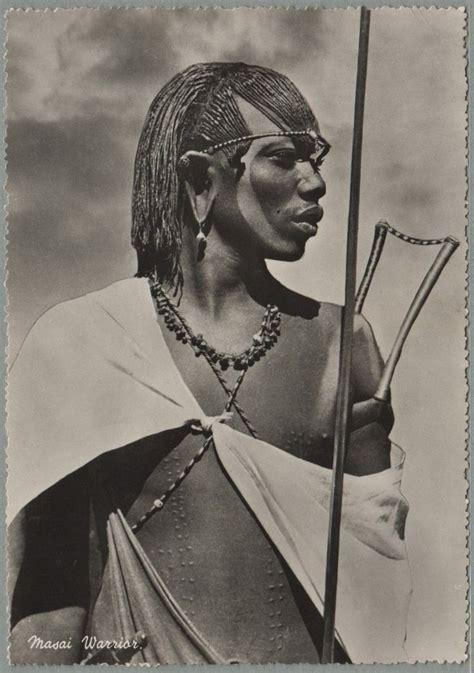 maasai hair styles maasai kenya 1955 photographer unknown african art