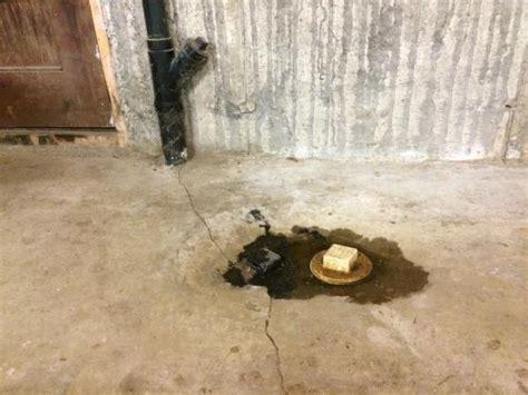 Basement Floor Plug Leaking, What is it ?   DoItYourself