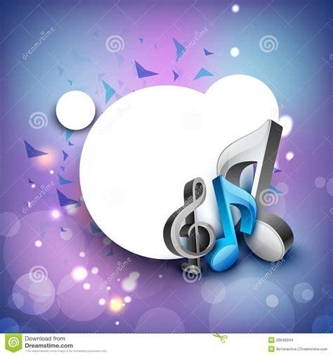 imagenes musicales para fondos notas musicales 3d sobre fondo brillante imagenes de
