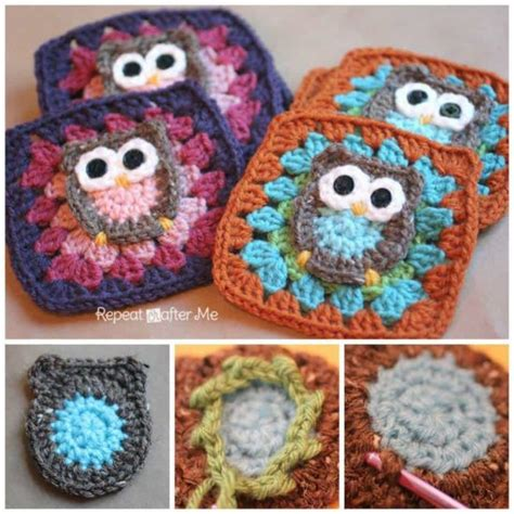 Owl Square by Owl Square Afghan Pattern Free Tutorial