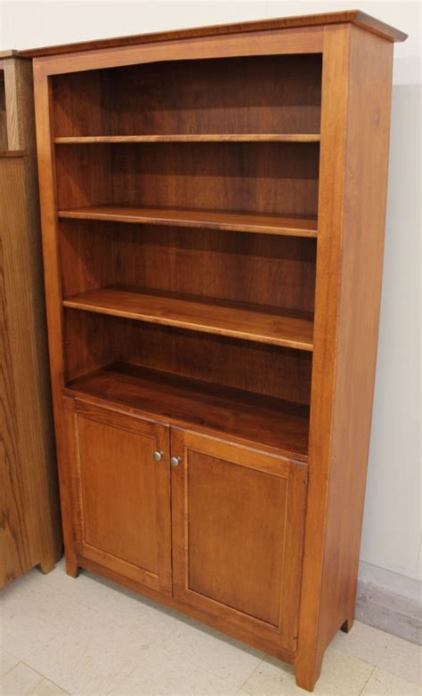 6 danville bookcase with doors 42 wide amish