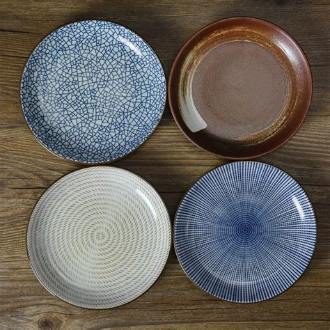 Plate With Sauce Dish on sale stripe geometry plate flavoring dishes plate