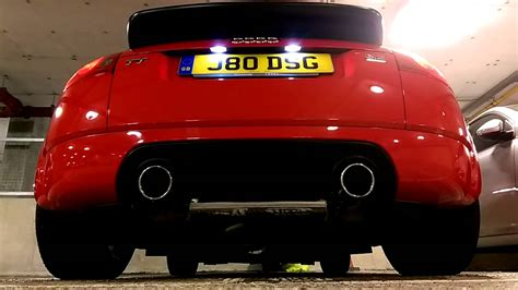 Audi Tt 8n Auspuff by Audi Tt 3 2 Mk1 8n Edel01 Exhaust Abgasanlage Dsg Youtube