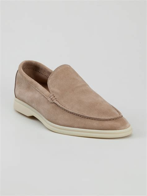 loro piana casual loafer in for lyst
