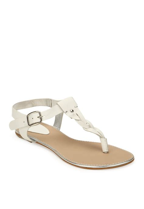 white sandals for white sandals buy z collection sandal india