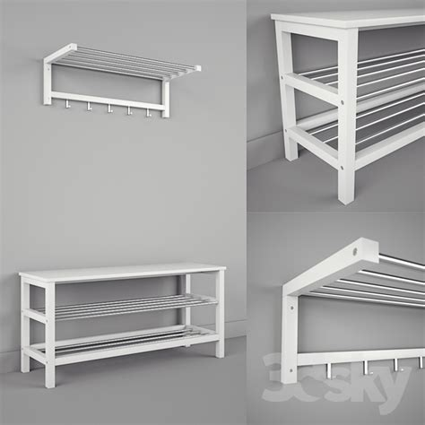 Ikea Shelf Bench by 3d Models Other Ikea Chusig Tjusig Bench And Shelf
