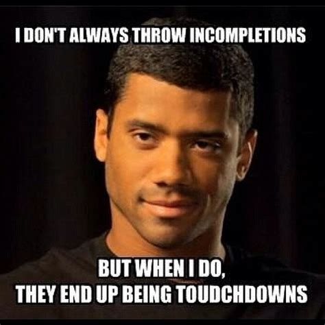 Russell Wilson Meme - seahawksmemes the most interesting russell wilson mnf