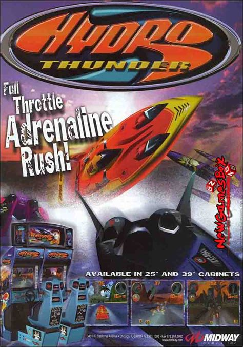 free full version arcade pc games download hydro thunder free download full version pc game setup