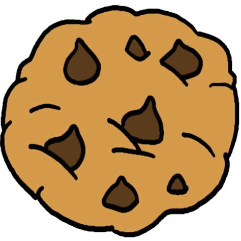 cartoon cutouts cartoon ankaperla com cartoon clipart huge chocolate chip cookie dessert photo