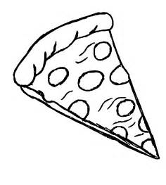 Pizza Slice Coloring Page fraction pizza coloring page coloring pages