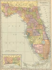 atlas map of florida the usgenweb archives digital map library hammonds 1910