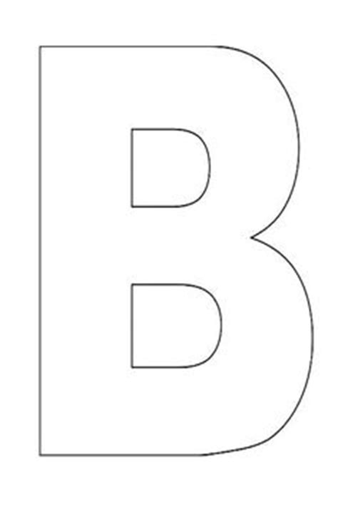 letter b template pre k quot b quot on letter b letter b crafts and