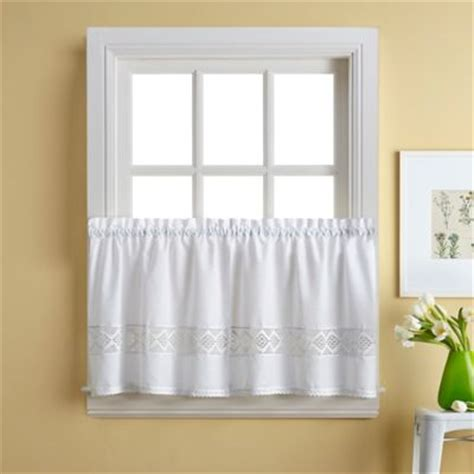 Buy Kitchen Curtains Buy Kitchen Tier Curtains From Bed Bath Beyond