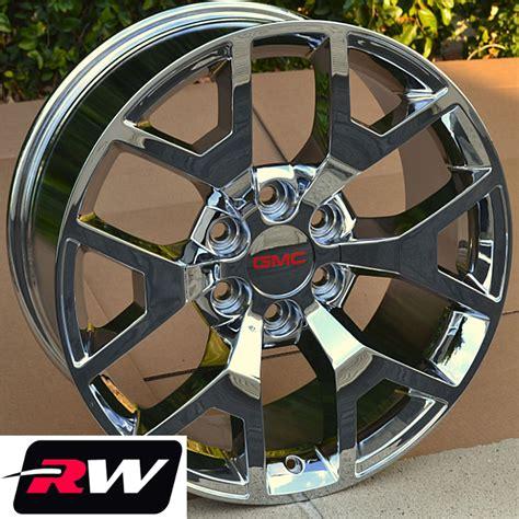 gmc 20 inch wheels gmc yukon wheels gmc 1500 chrome rims 20 quot inch 20x9